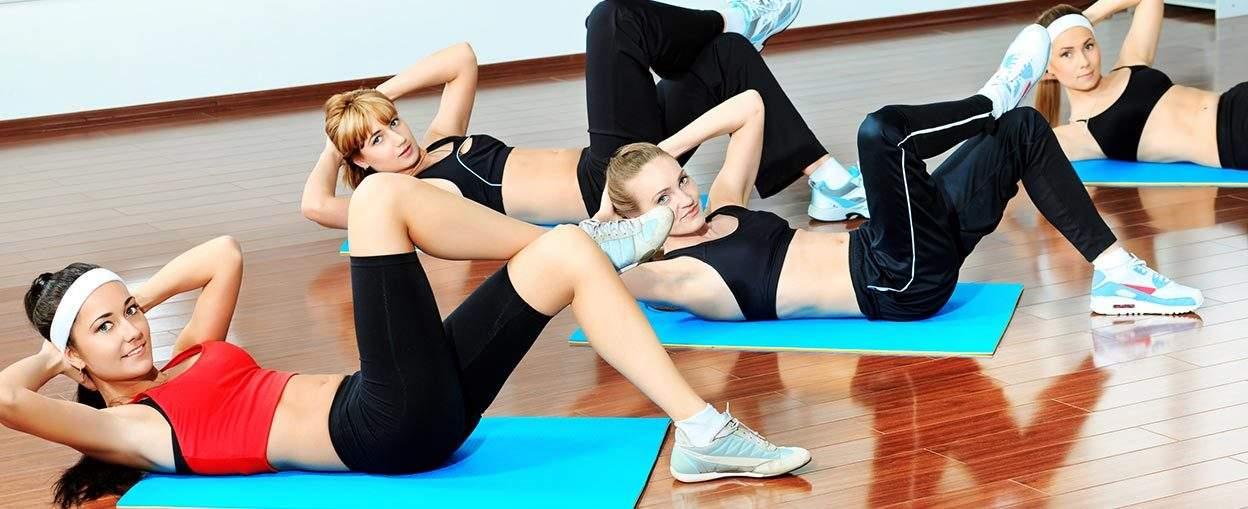 Leg Exercises & Abs στο Gym