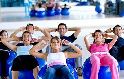 Pilates Ball στο Γυμναστήριο